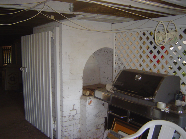 Chimney Area Before Renovation Snapshot in Clayfield