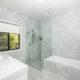 Marble bathroom in Brisbane.