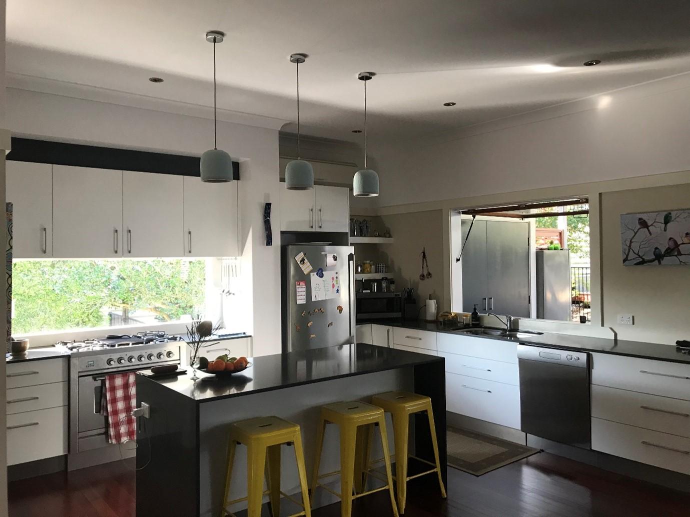 Holland Park Kitchen Renovation Modern Kitchen in Traditional Queenslander